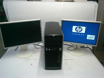HP xw8600 Workstation PC + 2x Nec LCD225                     jh