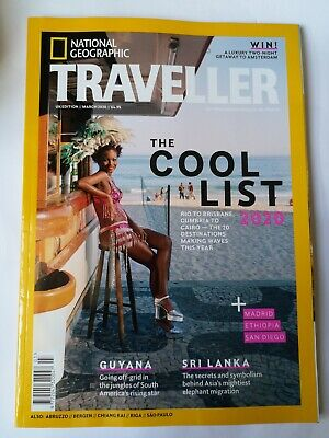 National Geographic Traveller MARCH 2020 Pre-owned