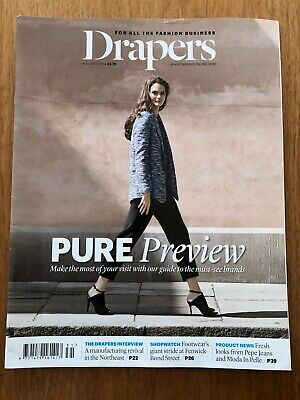 Drapers The Fashion Business Magazine August 2 2014 Great Condition