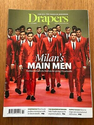 Drapers The Fashion Business Magazine July 5 2014 Great Condition