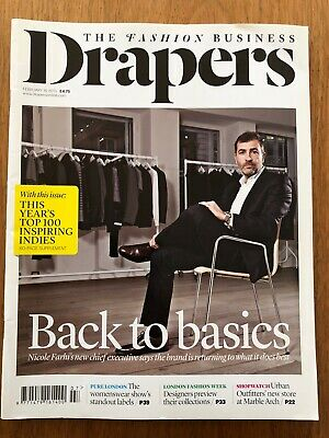 Drapers The Fashion Business Magazine February 16 2013 Great Condition