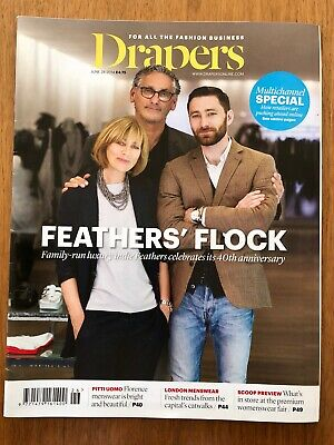 Drapers The Fashion Business Magazine June 28 2014 Great Condition
