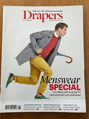 Drapers The Fashion Business Magazine July 12 2014 Great Condition