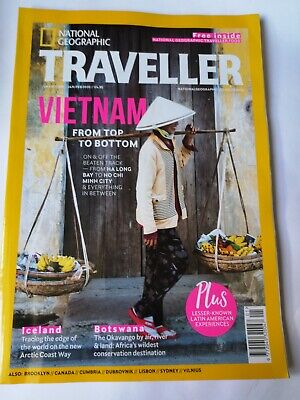 National Geographic Traveller JAN/FEB 2020 Issue  Pre-owned  VIETNAM