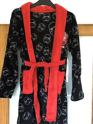 star wars dressing gown Aged 10