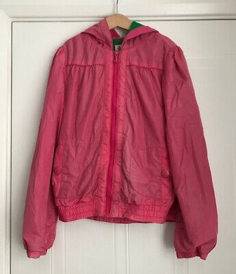 JUICY COUTURE Age 12 Girls Pink Light Weight Jacket With Hood