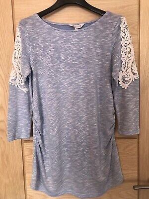 Ladies Red Herring Maternity Top Size 10