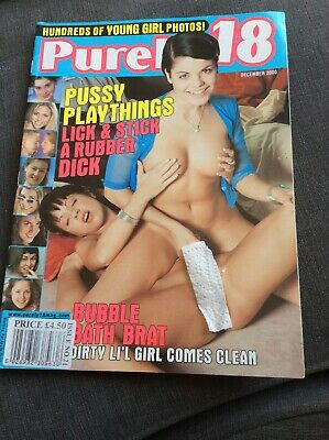 VINTAGE MENS ADULT GLAMOUR MAGAZINE - Purely 18 No 21 MENS Mag