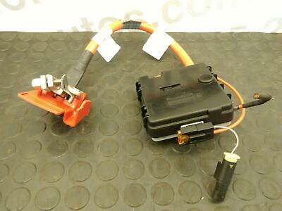 BMW X5 2016 F15 9338545 Positive Battery Blow Off Cable / Box