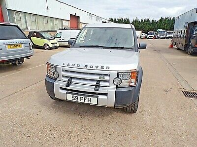 land rover discovery 2.7 tdv6 manual leather seats 2005 model in silver mot dec