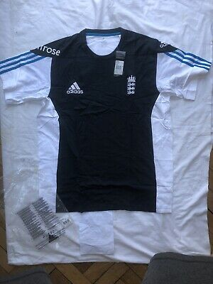 Authentic BNWT Mens England Cricket Training Top Cotton