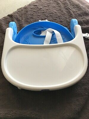 chicco pocket snack booster seat Highchair Blue