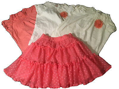 Girls Skirt And Top Set Bundle Age 6 And 8 Yrs. By tU.