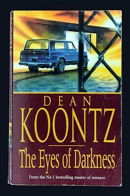 Dean Koontz - The Eyes of Darkness - 1996 Rare Paperback.