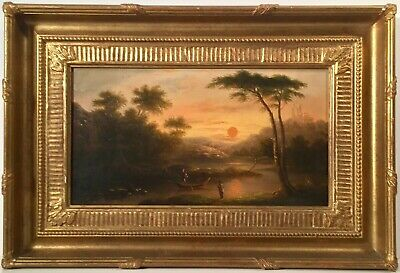 Listed Scottish Artist Patrick Nasmyth (1787-1831) Oil On Canvas w/ Provenance