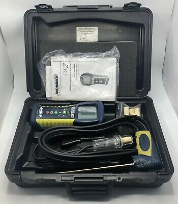 Bacharach PCA2 Portable Combustion Analyzer 24-7301 QV1000 With Case Accessories