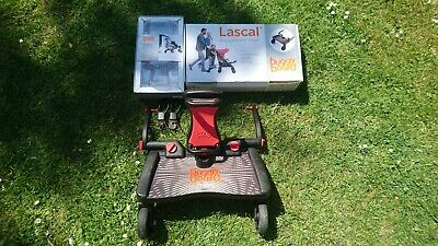 Lascal BuggyBoard Maxi mit Sattel in OVP