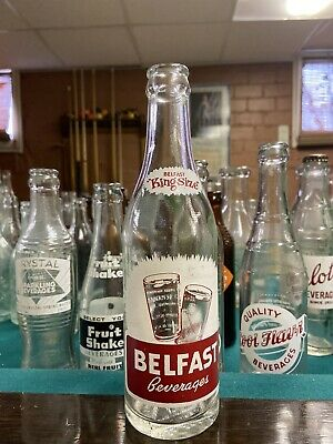 California Ca ACL Soda Bottle Belfast Beverages