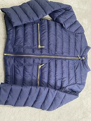 Girls Next Quilted Navy Jacket Age 12 Never Worn