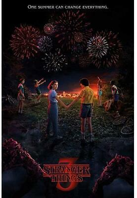 80x60cm Stranger Things-Summer of 85 Poster Canvas Print #125502
