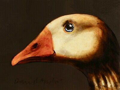 COMMISSION an ANIMAL PORTRAIT : An Original Oil Painting by David Andrews