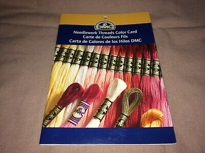 DMC Needlework Threads Color Card 2008 Craft Material Shade Reference Guide
