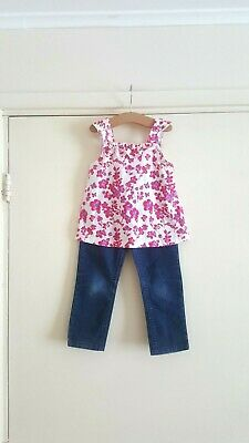 marks and spencer girl set age 3-4 years