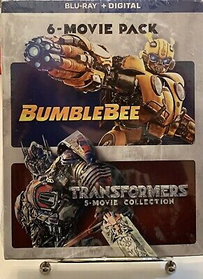 Bumblebee / Transformers: 6-Movie Pack Collection Blu-Ray Box Set Sealed New!