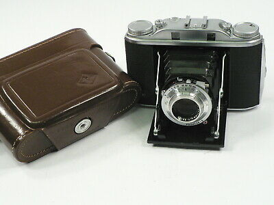 Agfa Isolette III mit Solinar 3,5/75 mm - top -