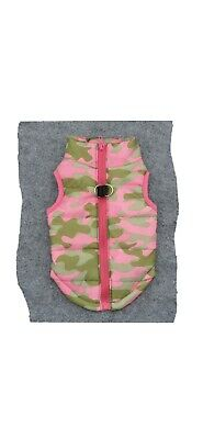 Adorable Quilted Dog Vest.  Pink And Green!!  PREPPY💕