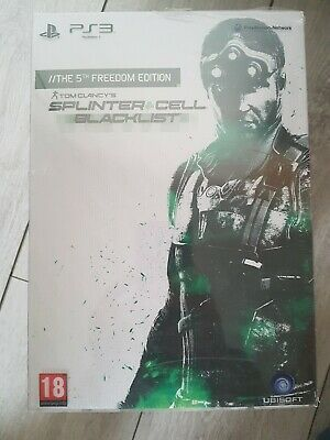 Splinter Cell Blacklist The 5th Freedom Edition Collector - PS3