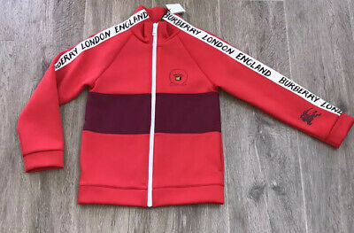 Burberry Red Jacket / Coat Unisex BNWT ❌❌RRP £ 211 ❌❌Age 10 Yrs