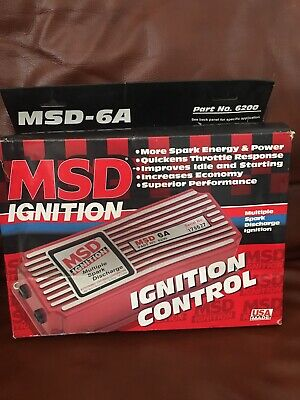 MSD 6A 6200 Multiple Spark Discharge Ignition Control
