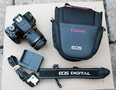 Canon EOS 600D 18.0MP SLR Camera - Kit with EF-S 18-55mm IS II Lens
