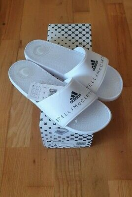 Adidas by Stella Mccartney white Slippers EUR 41/UK8(fits for 40/7) RRP£50