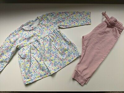 Baby Girls Marks And Spencer Outfit - 9-12 Months EUC