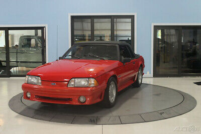 1993 Ford Mustang 2dr GT Convertible 1993 2dr GT Convertible Used 5L V8 16V Manual Convertible