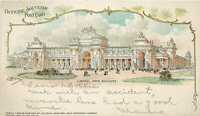 1904 St. Louis Worlds Fair Exposition Liberal Arts Building, Cupples, Posted