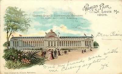 1904 St. Louis Worlds Fair Exposition U.S. Government Building, Hesse, Posted