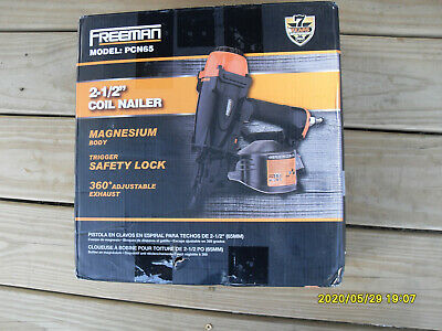 FREEMAN PCN65 Coil Siding and Fencing Nailer Works Great!!