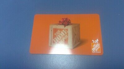 Home Depot $ 100.00 Gift Card Free Shipping Us