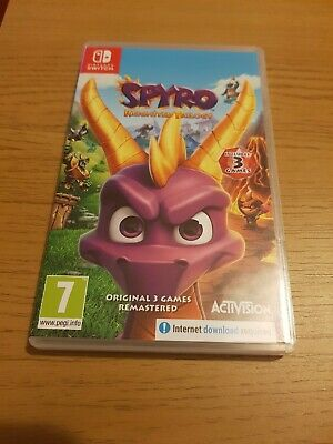 Spyro Reignited Trilogy -- Standard Edition (Nintendo Switch, 2019)