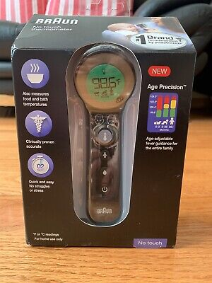 NEW Braun 3-in-1 No Touch Thermometer Forehead Digital BNT400 *FAST SHIPPING