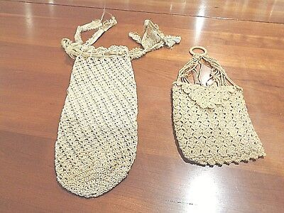 Antique hand made hand bags