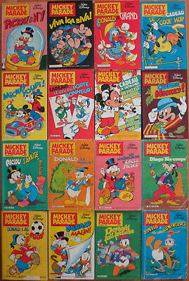 Lot bande dessiné 63 Mickey parade (nouvelle série)