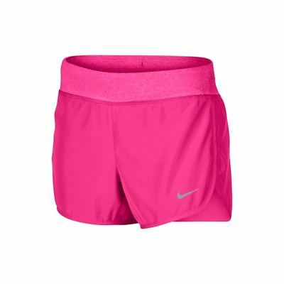 """NIKE GIRLS RIVAL 4""""  DRY, LINED  SHORTS, 12/13 yrs- LARGE - HYPER PINK. BNWT"""