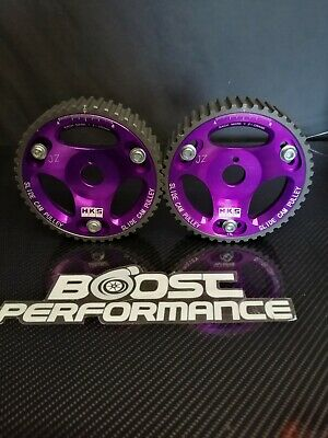 adjustable Cam Pulleys (PAIR) Fits Toyota 1 & 2 JZ GE & GTE