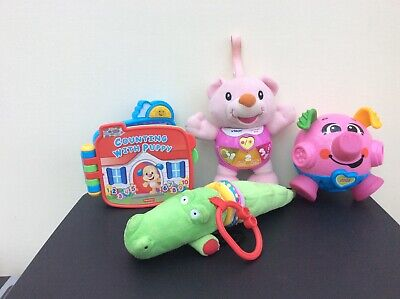 JOBLOT/BUNDLE OF BABY TOYS- FISHER PRICE VTECH GC Reduced only £9.50