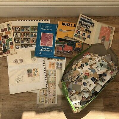Mixed World Stamps. Job Lot. MIX OF USED AND MINT.