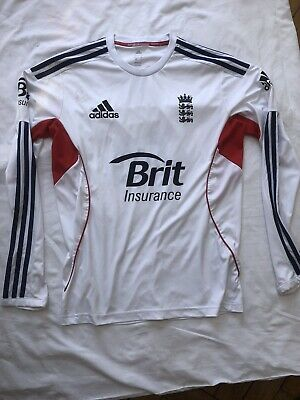 Authentic New without tags Mens England Cricket Long SleeveTraining Top